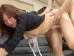 Exotic Japanese slut Nanako Hirai in Best Doggy Style, Fingering JAV video