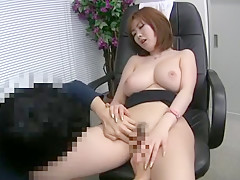 Fabulous Japanese chick Rio Hamasaki in Incredible Lingerie, Cunnilingus JAV scene