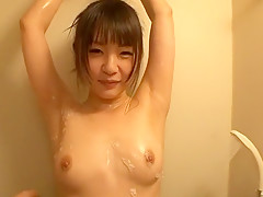 Exotic Japanese girl Tsubomi in Fabulous Showers JAV video