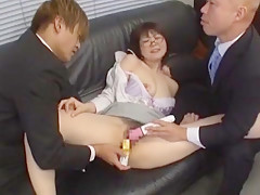 Horny Japanese whore in Crazy Big Tits, Fingering JAV clip