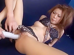 Hottest Japanese whore Yuki Mukai in Exotic Gangbang, Masturbation/Onanii JAV clip