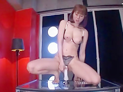 Horny Japanese chick Yuma Asami in Best Dildos/Toys, Solo Girl JAV clip