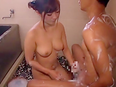 Hottest Japanese girl Haruki Sato in Horny Big Tits, Showers JAV video