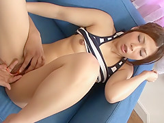 Hottest Japanese model Toa in Fabulous JAV uncensored College Girl scene