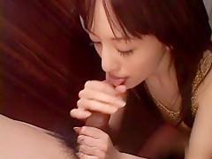 Hottest Japanese girl Arisa Kanno in Fabulous JAV uncensored Cumshots scene