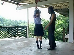 Amazing Japanese chick Kasumi Uehara in Hottest BDSM, Outdoor JAV scene