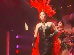 Hottest Japanese chick Minako Komukai in Incredible Live shows JAV video