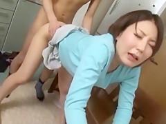 Horny Japanese slut Tina Yuzuki, Hotaru Yukino, Rio Fujisaki in Exotic Kitchen, Wife JAV video