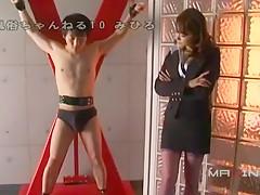 Amazing Japanese slut in Horny Femdom, Strapon JAV video