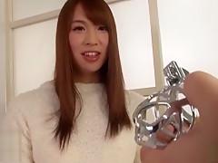 Hottest Japanese whore in Amazing /Futanari JAV movie