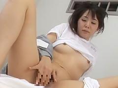 Best Japanese whore Nana Saeki, Meguru Kosaka, Tsubaki Katou in Crazy Lesbian/Rezubian, Medical JAV video