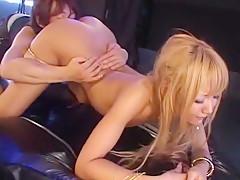 Exotic Japanese slut in Fabulous Blonde, Striptease JAV scene