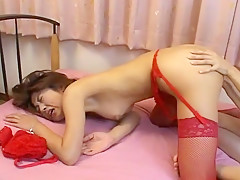 Best Japanese chick Riko Tanaka, Miko Himura, Kasumi Kobayashi in Fabulous Lingerie, Lesbian/Rezubian JAV clip