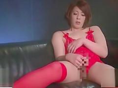 Horny Japanese model in Incredible Blowjob, Compilation JAV video