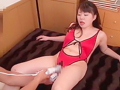 Fabulous Japanese chick Akari Asakiri, Nozomi Nishiyama in Horny Fingering, Lingerie JAV scene