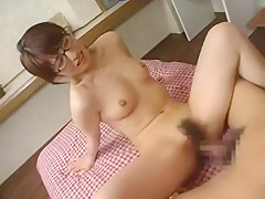 Amazing Japanese whore Moe Kirishima, An Nanba in Crazy Group Sex, Lesbian/Rezubian JAV clip