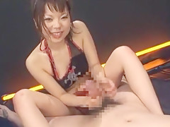 Exotic Japanese model Sayaka Kimijima in Fabulous Big Tits, Threesomes JAV movie