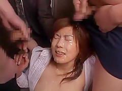 Exotic Japanese chick Hitomi Nakagawa in Fabulous Cumshots, Facial JAV movie
