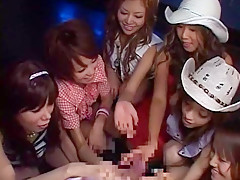 Best Japanese slut Emi Haruna, Hina Wakara, Yume Imano in Exotic Group Sex, Handjobs JAV video