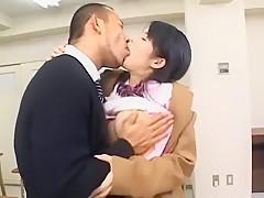 Exotic Japanese slut Sora Aoi in Crazy Handjobs, Babysitters JAV clip