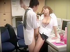 Crazy Japanese chick Sumire Matsu in Incredible Hidden Cams, Office JAV scene