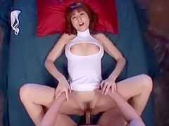 Incredible Japanese girl Yuma Asami in Crazy Big Tits, Fingering JAV clip
