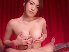 Hottest Japanese girl Reina Fujii in Incredible Big Tits, Anal JAV scene