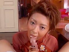 Incredible Japanese slut in Amazing Handjobs, POV JAV clip