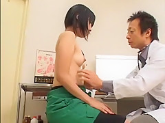 Exotic Japanese whore in Best Medical JAV clip
