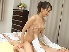 Fabulous Japanese chick Aoki Misora in Exotic Facial, Handjobs JAV movie