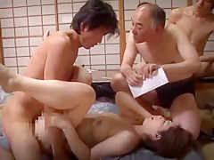 Exotic Japanese slut Minori Makise, Chisato Shouda in Fabulous Cunnilingus, Facial JAV video