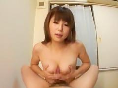Horny Japanese whore Azumi Harusaki in Hottest Big Tits, POV JAV movie
