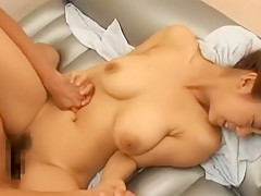 Exotic Japanese whore in Fabulous Big Tits, Handjobs JAV clip