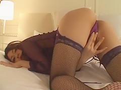 Exotic Japanese model Misa Sato in Hottest Dildos/Toys, Solo Girl JAV video