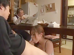 Incredible Japanese girl Haruki Sato in Amazing Blowjob JAV scene