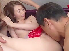 Exotic Japanese whore Aya Kisaki in Horny JAV uncensored Hardcore clip