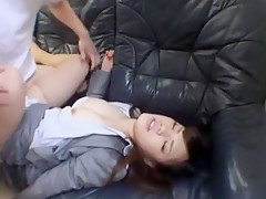 Amazing Japanese slut in Incredible Lingerie, Big Tits JAV movie