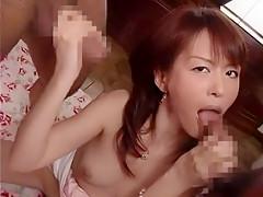 Hottest Japanese model Ai Himeno in Horny Small Tits, Threesomes JAV scene