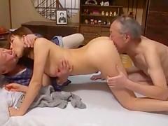 Amazing Japanese chick Akari Satsuki in Exotic Threesomes, Oldie JAV video
