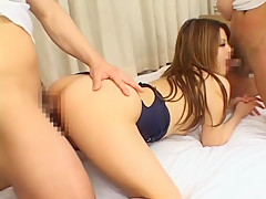 Best Japanese girl Risa Tsukino in Exotic Cunnilingus JAV scene