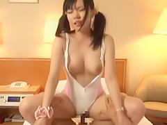 Crazy Japanese girl Mio Mikura in Best Handjobs, Big Tits JAV movie