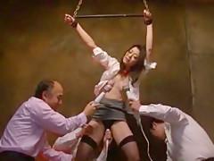 Best Japanese chick Maki Hojo in Incredible Fingering, Hardcore JAV clip