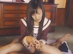 Exotic Japanese whore Koi Koino in Amazing Foot Job JAV video