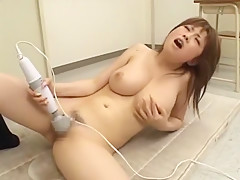 Crazy Japanese whore Rio Hamasaki in Incredible Masturbation, Solo Girl JAV video