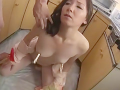 Exotic Japanese girl Chika Sasaki in Crazy Handjobs, Wife JAV scene