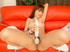 Hottest Japanese chick Mai Henmi, Anri Hoshizaki, Kurumi Wakaba in Fabulous Cumshots, Masturbation JAV video