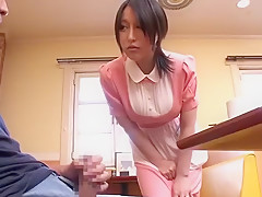 Incredible Japanese whore Chiharu Aibu, Miwako Yamamoto, Maria Ono in Horny Masturbation JAV scene