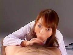 Incredible Japanese chick Hikaru Hozuki in Hottest Masturbation, Lingerie JAV clip
