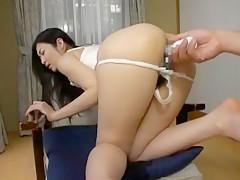 Exotic Japanese chick in Fabulous Fingering, Handjobs JAV movie