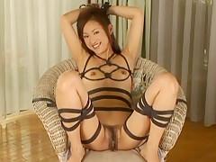 Horny Japanese model Reina Kato in Crazy Big Tits, Cunnilingus JAV movie